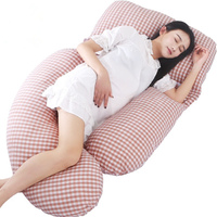 9 цветов плед Беременность подушка Высокое качество сон U/G-образная форма Беременная Талия Подушка Женская подушка для тела материнский ком...