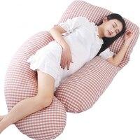 9 Colors Plaid Pregnancy Pillow High Quality Sleep U/G Shape Pregnant Waist Pillow Women Body Pillow Maternal Nursing Set