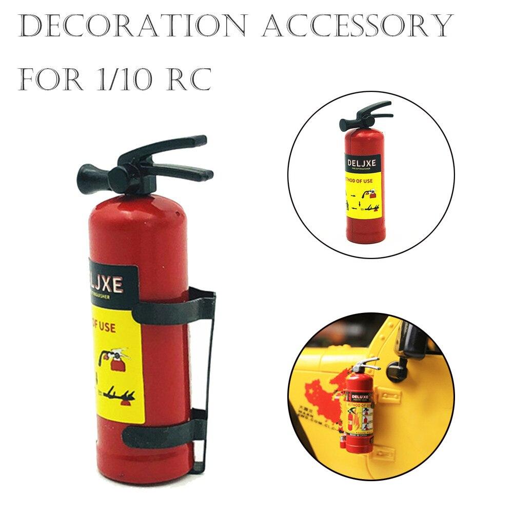 Dollhouse Miniature 1:10 Scale Accessory Plastic Fire Extinguisher Decor Red