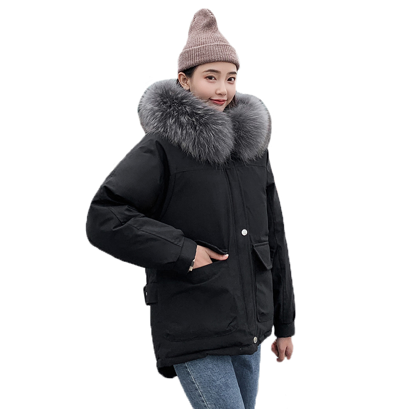 2019 Autumn And Winter parka coat women new fashion cotton clothing female outerwear short student bread jacket womens jacket(China)