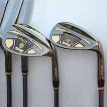 New mens Golf clubs Maruman majesty super 7 Golf irons 4-9.P.A.S Irons clubs with Graphite Golf shaft R or S flex Free shipping