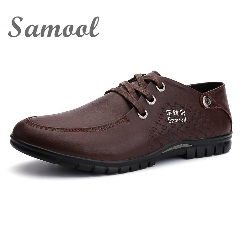 High Quality Genuine Leather Men font b Oxfords b font Shoes 2017 Spring Autumn Comfortable Light