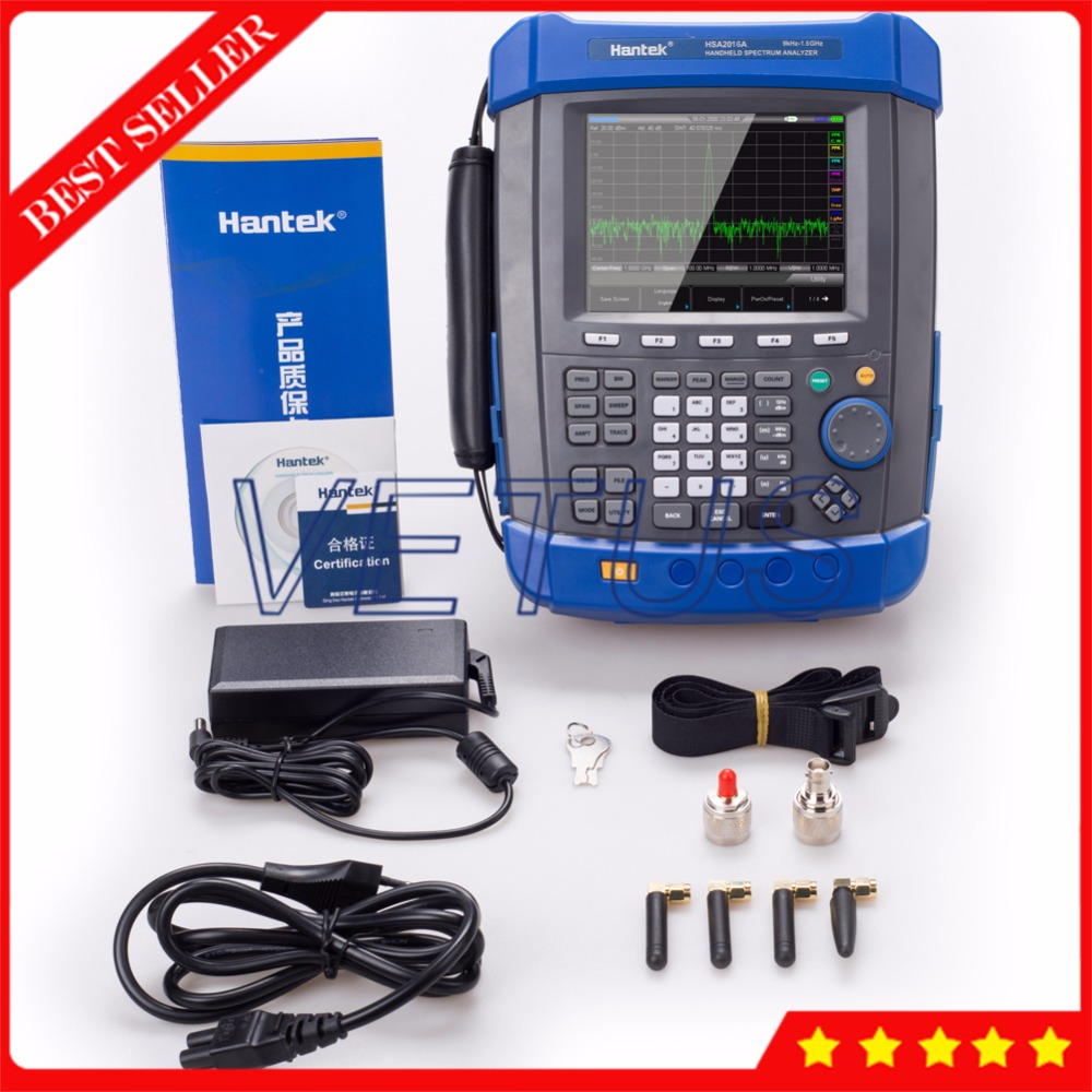 9KHz-1.6GHz HSA2016A Portable Handheld Digital Spectrum Analyzer for field mobile / laboratory application USB interface jeff mcwherter professional mobile application development