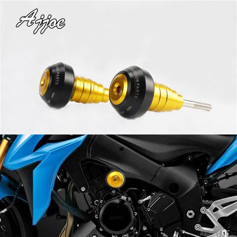 Protection de chute de coussinets de glisseur de cadre de moto pour Suzuki GSX-S1000 2015-2017 Simple
