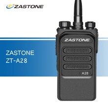 A28 Zastone Walkie Talkie 10 W 3800 mAh UHF 400-480 MHz Portátil radio de Dos vías Walkie Talkie de Largo distancia de 10 km de $ Number Vías de Radio Comunicador
