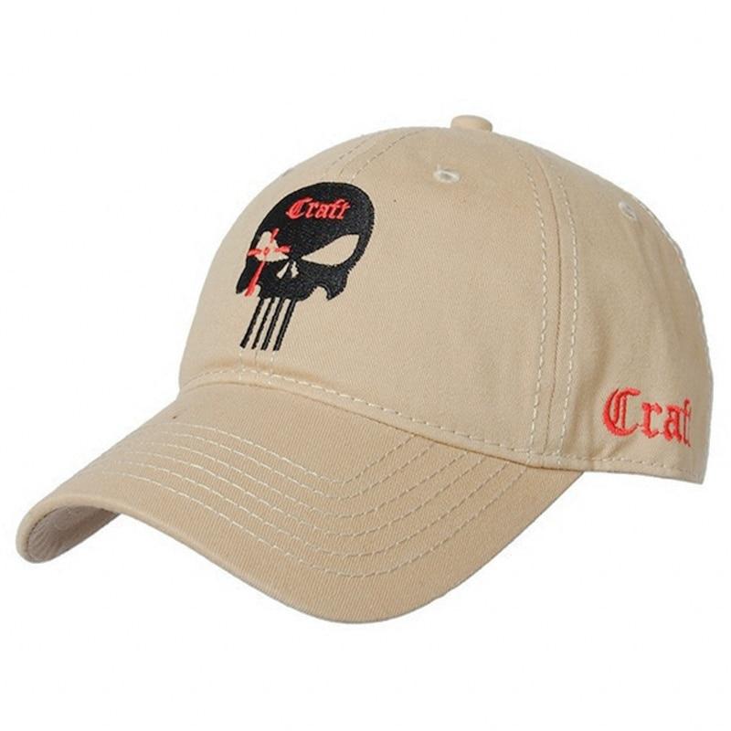 2018 new Men Women Embroidered Amercian skull dad hat Cotton Running Hats Adjusted Snapback   Baseball     Cap