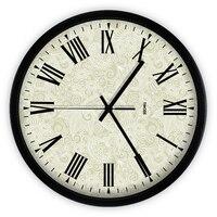 Large Metal Modern Wall Clocks European Style Grande Relogio Parede Kitchen Hours Digital Rustic Wall Clock