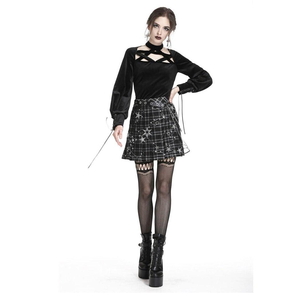 Femmes De Design Tw184 Top Star Darkinlove Goth 4xqdwR840