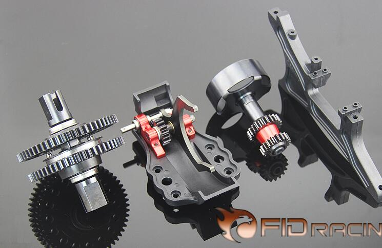 FID A one key to reverse gear system for 1 5 hpi losi 5ive T 4WD