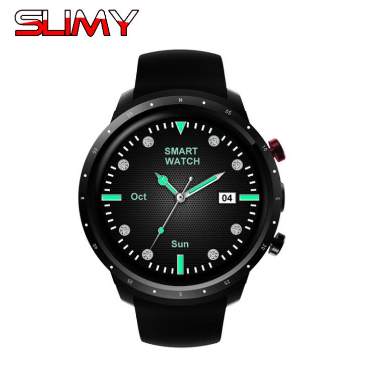 Slimy Z18 Smart Watch Android 5.1 Smartwatch 512MB+8GB Camera 3G WIFI GPS Heart Rate Monitor Sports Clock For IOS Android Phone 2 pcs smart watch x200 android wristwatch heart rate monitor smartwatch with camera support 3g wifi gps 8gb 512mb for business
