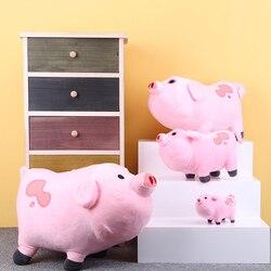 Kawaii 16 cm 27 cm Schwerkraft Fällt Plüsch Spielzeug Nette Rosa Schwein Waddles Stofftier Kinder Geschenk