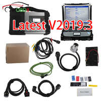 V2019.3 MB SD C5 Connect Compact 5 Star Diagnosis Plus Panasonic CF19 I5 4GB Laptop Software Installed Ready to Use