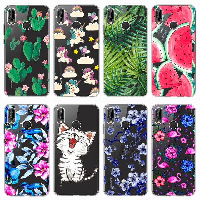 new concept 299e9 4b3c7 US $1.8 5% OFF|For Huawei P20 Lite Case Cover 5.84