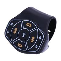 Universal Car Steering Wheel Bluetooth Hands Free WirelessMultimedia Player Button Remote Control Fit With Android IOS