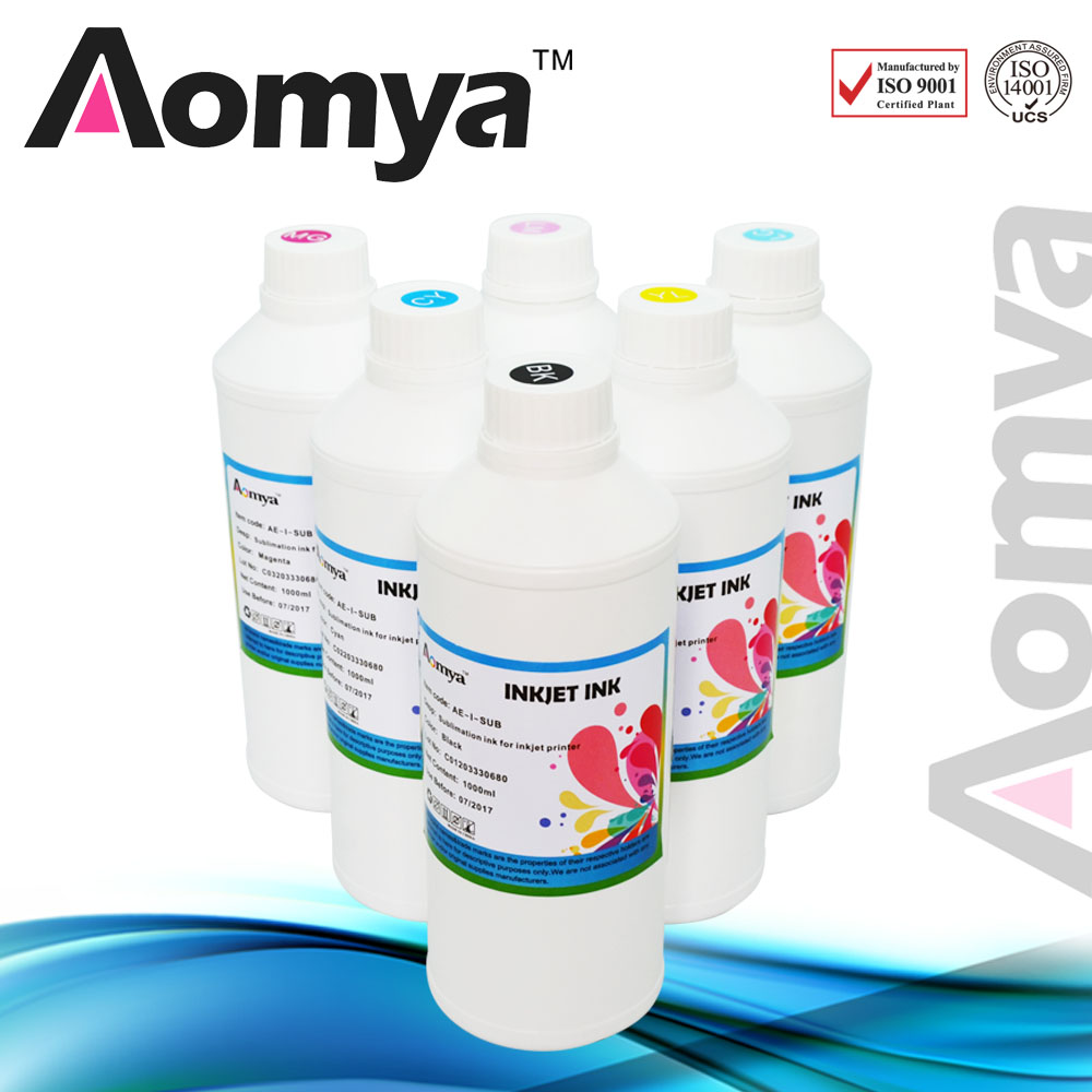 ФОТО MSDS certification bottle ink refill Sublimation ink For Mimaki JV4/JV22/JV33 , 1000ml x 6colors/lot