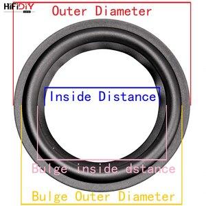 Image 2 - Hifidiyライブ 4 12 インチウーファースピーカー修理部品ゴムサラウンドエッジ折りたたみリングサブウーファー (100 〜 300 ミリメートル) 4 5 6.5 7 8 10 12