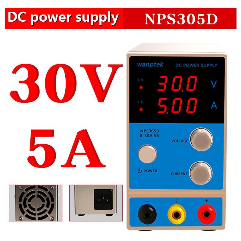30 V 60 V 5A 10A haute précision numérique réglable dc alimentation GPS3010D 0.001A régulateur de tension laboratoire dc alimentation - 4