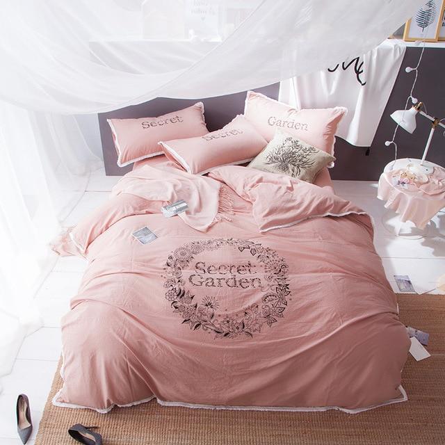 Princess S Bedding Set Queen King Oversized Size 100 Cotton Bedclothes Double Single Duvet Covers