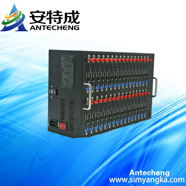 32  port modem pool with Q24plus bulk SMS market