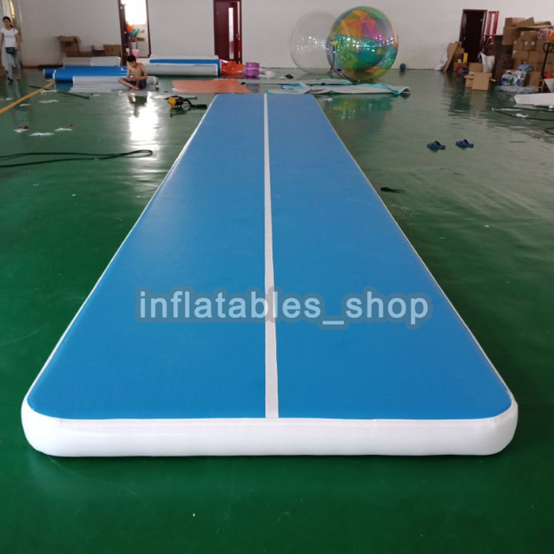Free Shipping 10x2x0.2m Air Tumbling Mat Inflatable Air Track For Cheerleading, Gymnastics Training, Beach