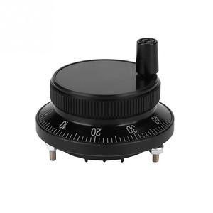 Image 2 - 1 Pcs CNC מחולל דופק ידני CNC דופק מקודד 5V 60MM יד גלגל דופק מקודד מיל נתב ידני בקרת עבור CNC מערכת