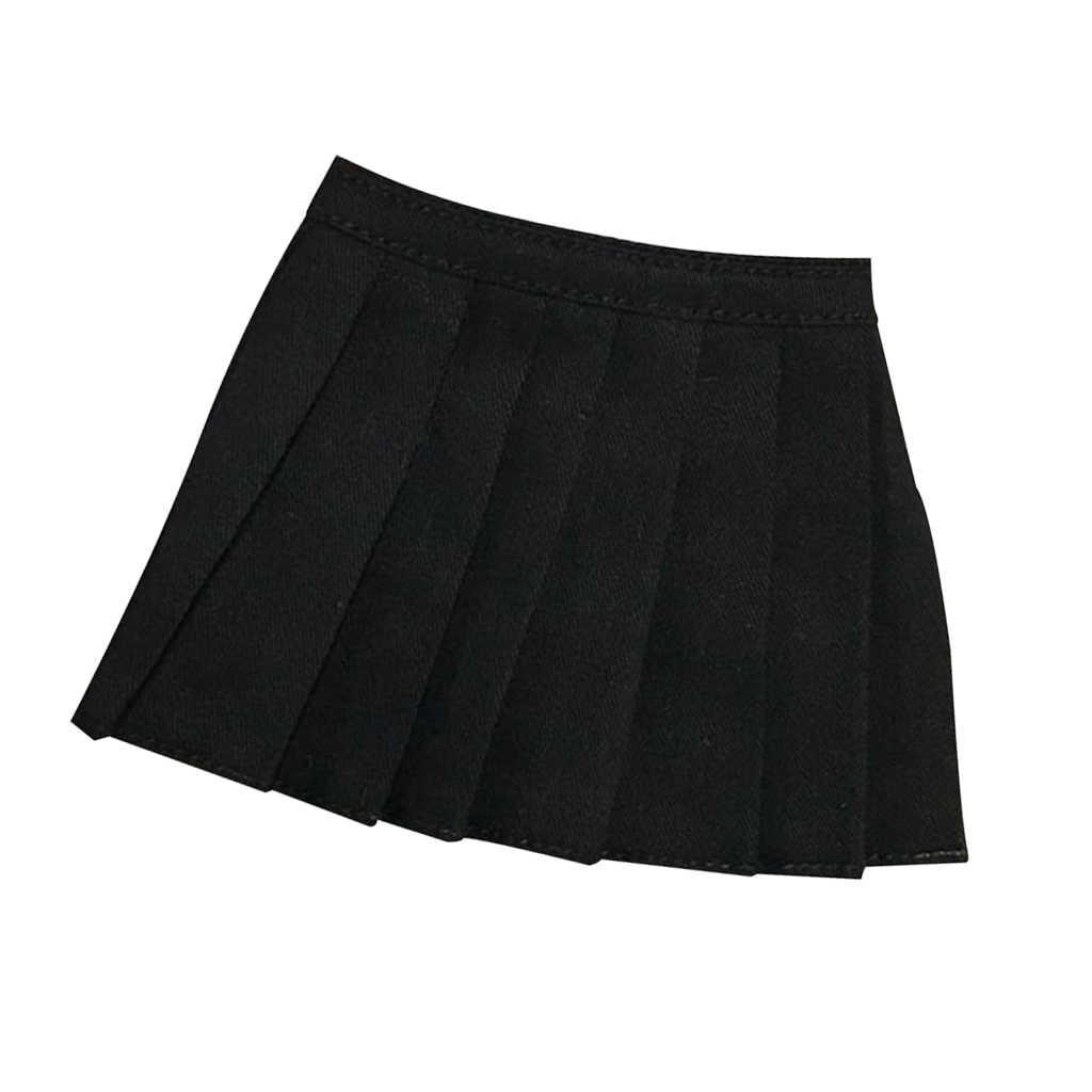 1/6 клетчатая мини-юбка школьницы короткое платье брюки для CY CG Phicen Kumik