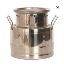 Stainless Steel Milk Transport Can/Container,5L-15L Bucket, SS304, Can