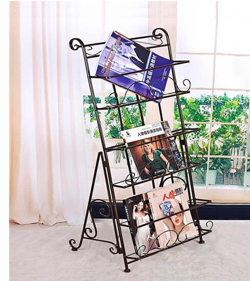 Beautiful European Style Garden Iron Double Deck Storage Rack Bathroom Shelves Home Improvement
