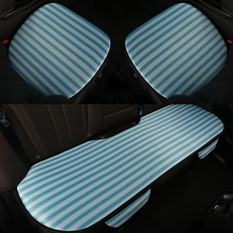 High end summer Breathable auto <font><b>seats</b></font> <font><b>covers</b></font> Ice Silk Car <font><b>Seat</b></font> <font><b>Covers</b></font> for <font><b>Mazda</b></font> 2 cx4 cx7 <font><b>cx9</b></font> mazda5 premacy image