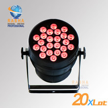 20X LOT Hex Lion Rasha 24pcs*18W 6in1 RGBAW UV Alumnium LED Par Light UV LED Par Can Stage LED Projector For Stage Party
