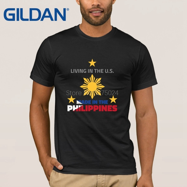 Us 13 2 20 Off Breathable Philippines T Shirt Mens Made In The Philippines Men S T Shirt Cotton Spring Autumn Tee Shirt Men Letter Crazy In T Shirts