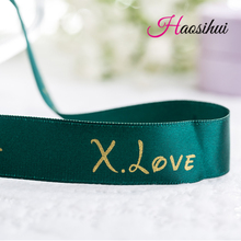 Karyncn gift  DIY custom ribbon,Personalized packaging polyester decoration ribbon/customize print wedding company LOGO