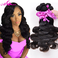 Mink Indian Virgin Hair Body Wave 4 Bundles Indian Body Wave 7A Unprocessed Human Hair Raw Virgin Indian Hair Weave Bundles