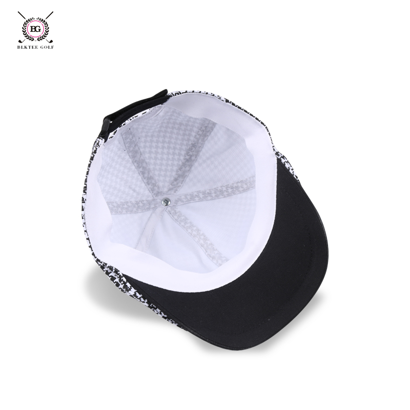7b744f22 Golf Hats Women's Cap Ladies Houndstooth Casual Hat Female Sports Cap  Winter Golf Hats For Christmas Wome Cap Hat Fashion-in Golf Caps from  Sports ...
