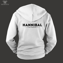 Hannibal eat the rude orignal design men unisex zip up hoodie heavy hooded sweatshirt organic cotton fleece inside Free Shipping