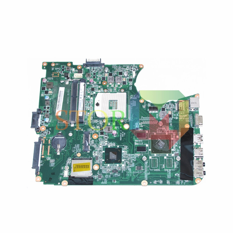 NOKOTION for toshiba satellite L750 laptop motherboard A000080140 DABLBDMB8E0 REV E HM65 N12M-GE-B-B1 DDR3 motherboard pca 6276v rev b1 100