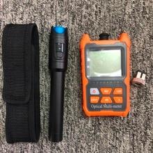2 in1 VFL 10mW 30mW Visual Fault Locator Fiber optic test pen FTTH Fiber Optic Tool Kit Fiber Optical Power Meter  70 + 10dBm