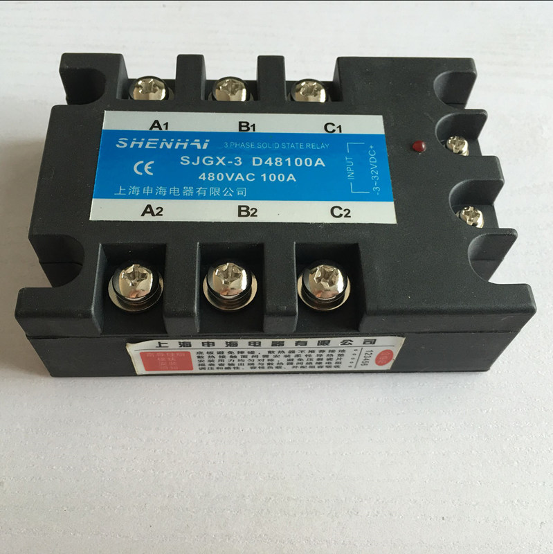Three-phase solid state relay SJGX-3 D48 100A 480VAC кресло cc3004 nola 56a 1s