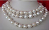 elegant 8.5 9MM AAA Japanese white pearl necklace 18inch>>>women jewerly