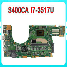 for ASUS S400CA S500CA S400C S500C Laptop motherboard 60NB0050-MB6010 REV3.1 i7-3517u 4GB DDR3 Mainboard 100% Tested
