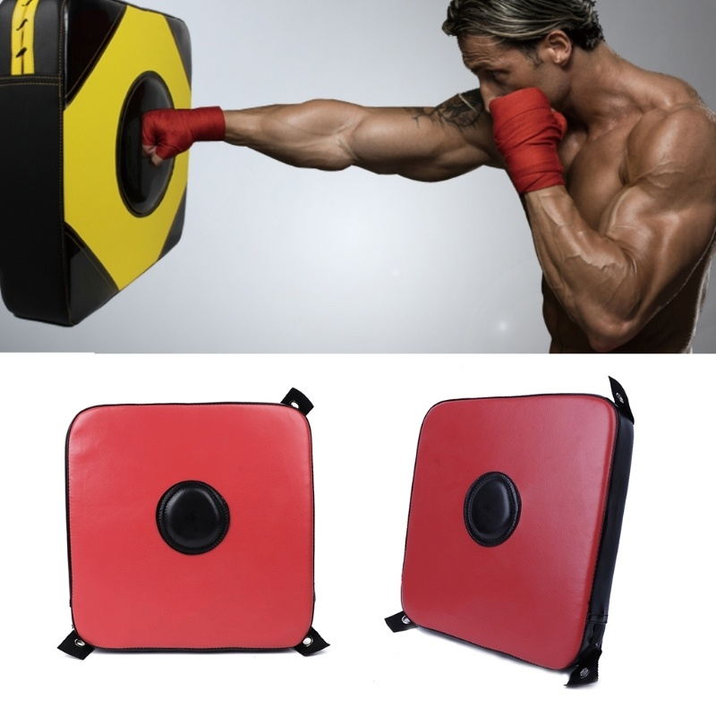 Portable Boxing Bag Solid Wall Target Punch Pad Square Fitness Training Sports Foam
