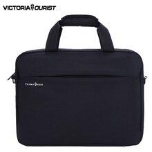 VICTORIATOURIST 15.6 inch laptop shoulder bag men/men  nylon crossbody bag / mens business bag/handbag for men/v7009 black
