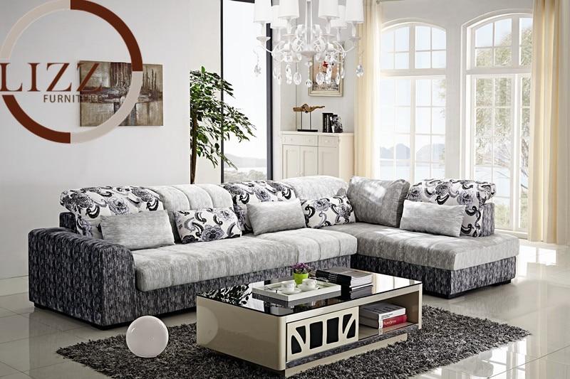Dubai Home Furniture Fabric Sofa Set B1036 In Living Room