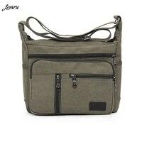 Новая распродажа мужские холщовые сумки с одним ремешком Мужские сумки на плечо однотонные школьные сумки на молнии для подростков повседн...