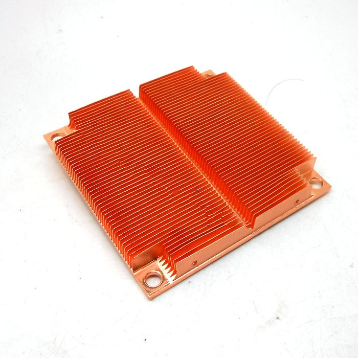 Pure copper heat sink copper block 81*80.5*12mm copper billet copper radiator notebook graphics card thermal conductivity copper cooling copper 30 30 3 0mm pure copper computer heat fins 30x30x3 0 radiator