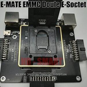 Image 5 - E メイトボックス emate ボックスダブル e ソケットサポート BGA153 、 169,162,186,221,529,100,136,168,254 ufi ボックス、メデューサ簡単 jtag ボックス