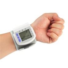 Автоматическая наручные Приборы для измерения артериального давления Мониторы Heart Beat Meter Пульсоксиметр тонометр Здоровье и гигиена руку сфигмоманометр цифровой ЖК-дисплей