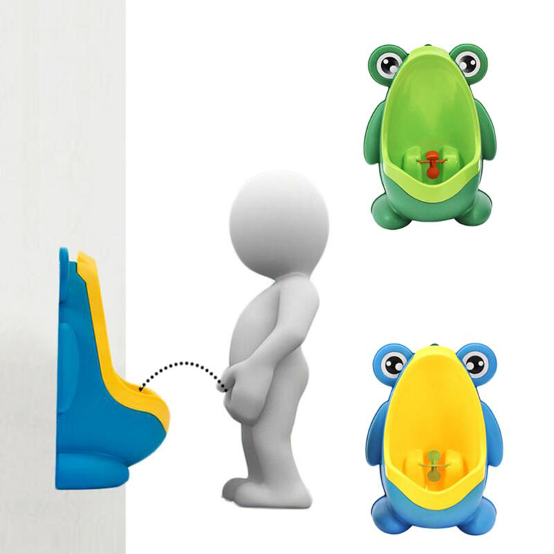 Kids Frog Potty Toilet Urinal Pee Trainer Wall Mounted