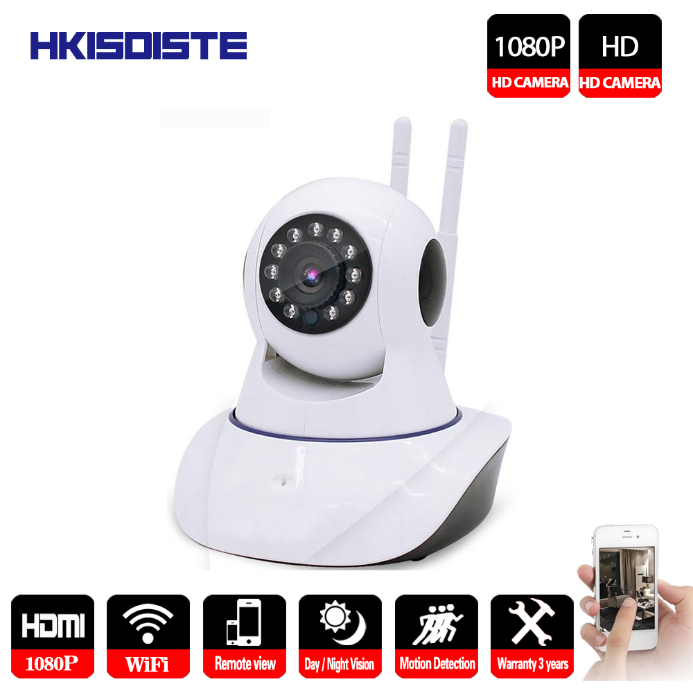 HKIXDISTE 1080P HD Wireless IP Camera Wifi Mini Home Security Onvif CCTV P2P Cameras Motion Detect Network Indoor Baby MonitorHKIXDISTE 1080P HD Wireless IP Camera Wifi Mini Home Security Onvif CCTV P2P Cameras Motion Detect Network Indoor Baby Monitor