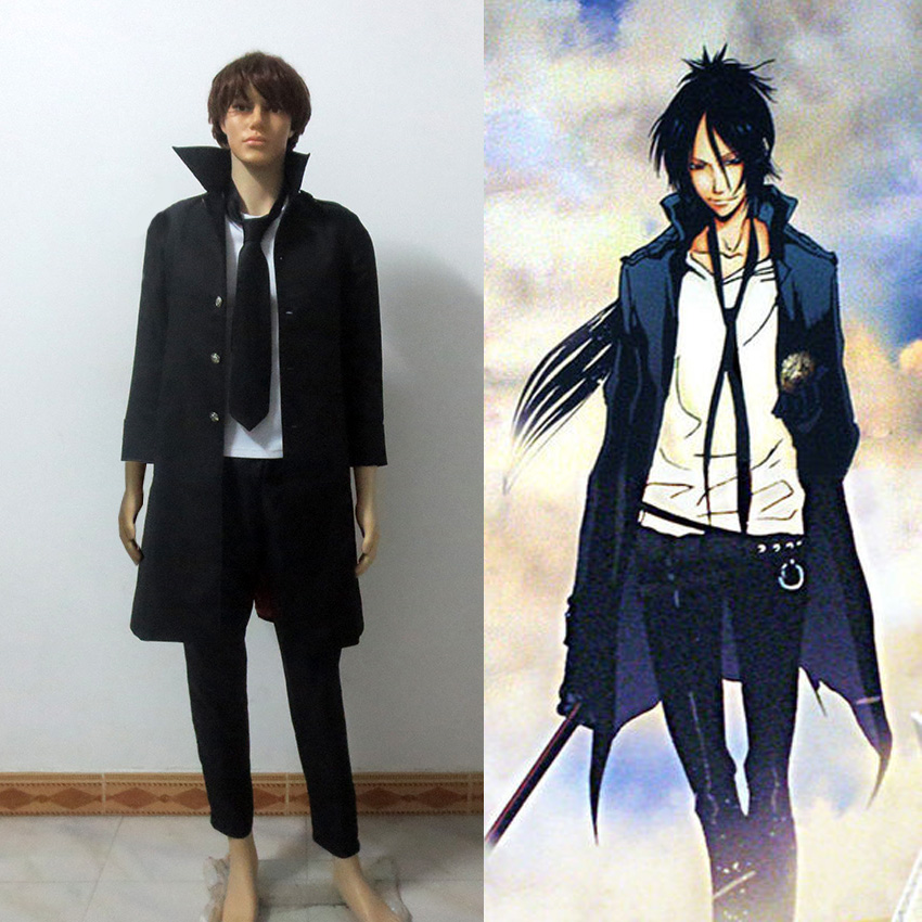 Anime Katekyo Hitman Reborn Rokudou mukuro Cosplay Costume Halloween Clothes For Adult Free Shipping